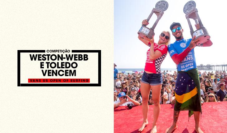 32690Filipe Toledo e Tatiana Weston-Webb vencem US Open