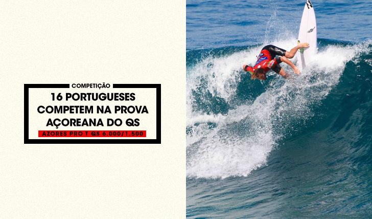 3341816 surfistas portugueses em prova no Azores Pro