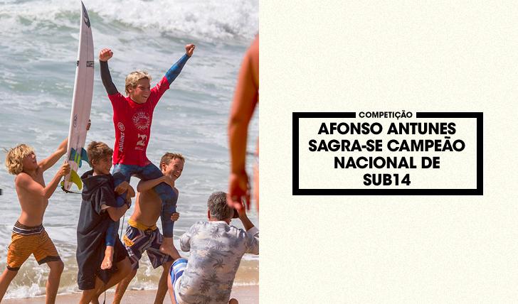 33472Afonso Antunes sagra-se campeão Nacional de Sub14