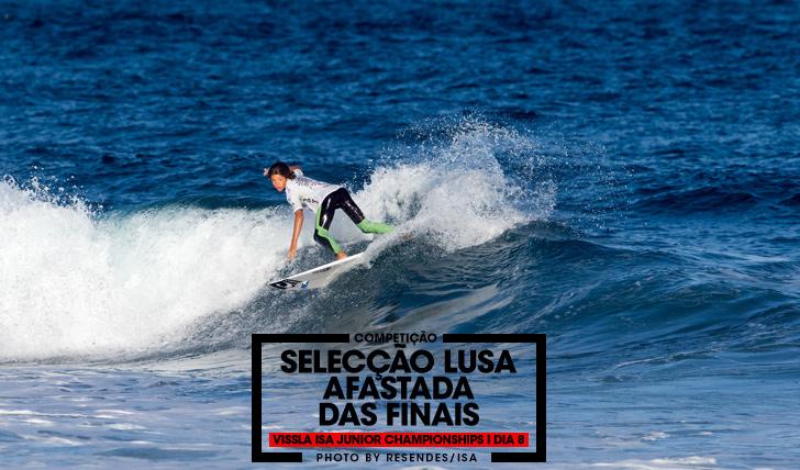 33831Selecção nacional afastada das fases finais do Vissla ISA World Junior Surfing Championships