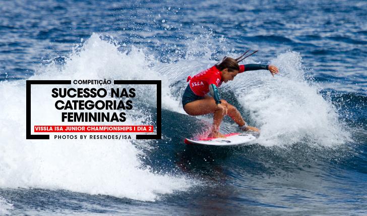 33717Sucesso nas categorias femininas no Vissla ISA World Junior Surfing Championships