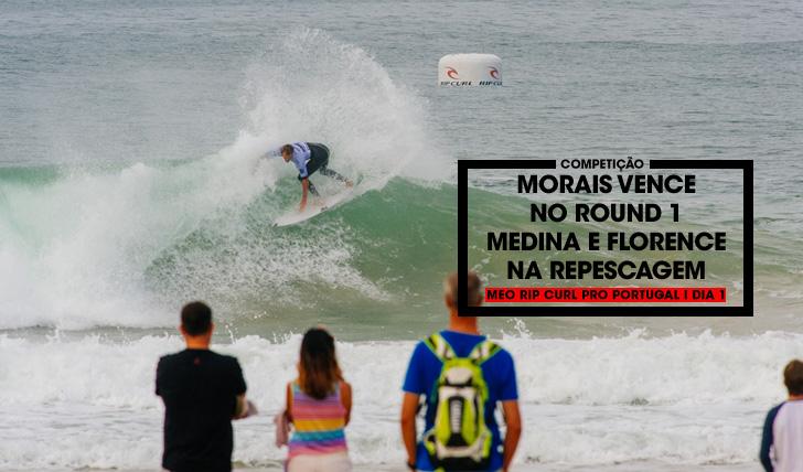 34248Frederico Morais vence no round 1 do MEO Rip Curl Pro Portugal