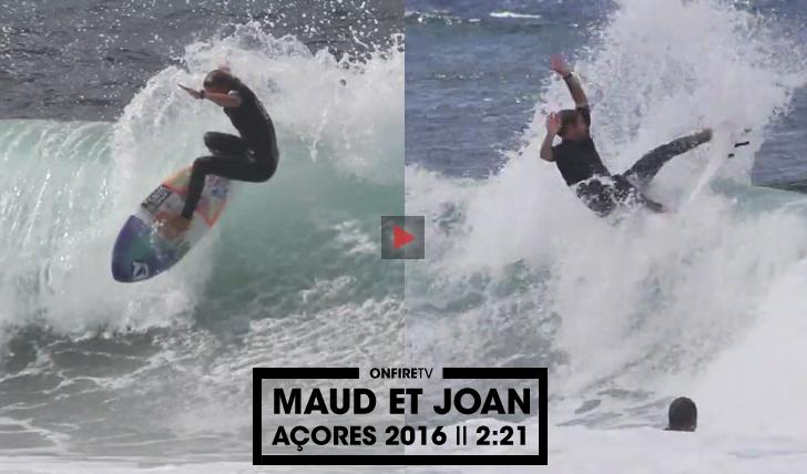 34003Maud et Joan | Açores 2016 || 2:21