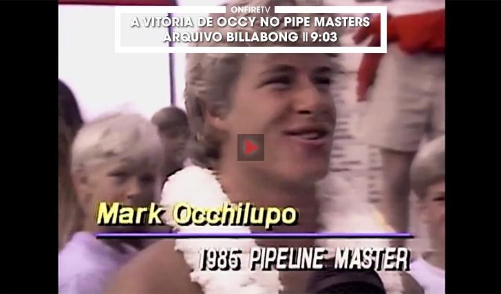 35086A vitória de Occy no Pipe Masters de 1985 || 9:03