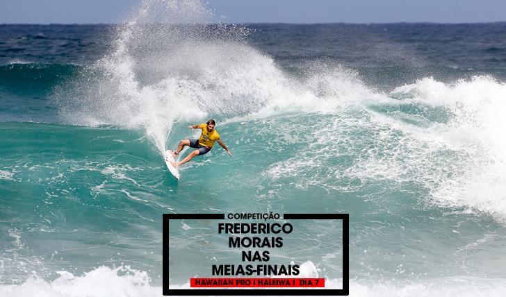 34911Vasco Ribeiro eliminado no Hawaiian Pro, Frederico Morais nas meias-finais