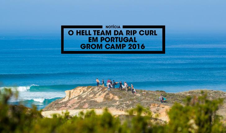 """34893O """"Hell Team"""" da Rip Curl em Portugal"""