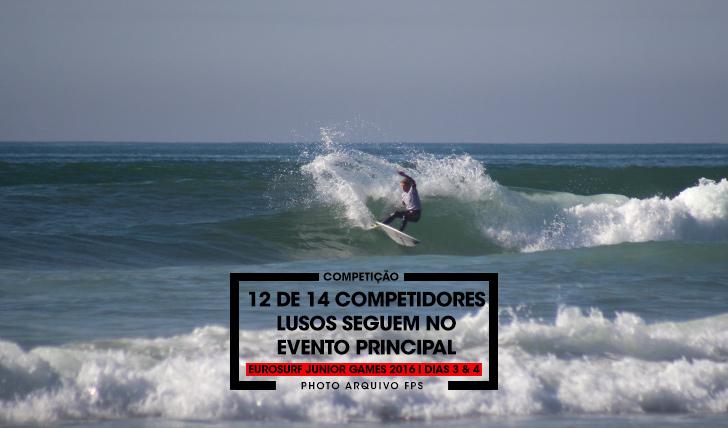 3523512 de 14 surfistas lusos seguem no main event do EuroSurf Junior | Dias 3 & 4