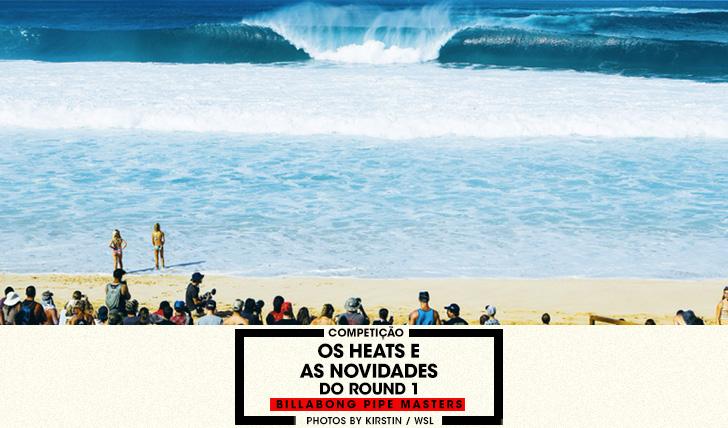 35221Os heats do round 1 do Billabong Pipe Masters