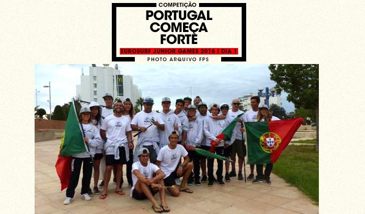 35204Bom arranque para a selecção nacional no EuroSurf Junior em Marrocos