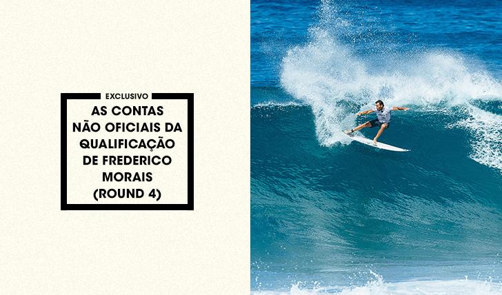 35142As contas não oficiais da qualificação de Frederico Morais (round 4)
