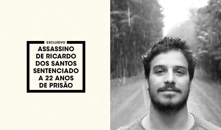 35404Assassino de Ricardo dos Santos sentenciado a 22 anos de prisão