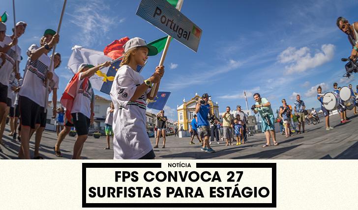 35677FPS convoca 27 surfistas abaixo dos 18 anos para estágio