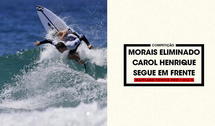 36183Frederico Morais eliminado | Carol Henrique segue em frente em Newcastle