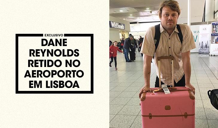 36145Dane Reynolds retido no aeroporto de Lisboa