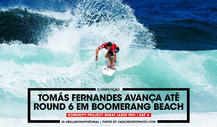35966Tomás Fernandes avança até round 6 em Boomerang Beach