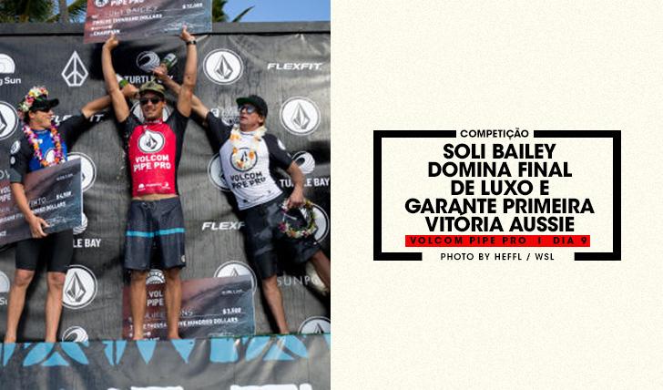 35967Soli Bailey garante a primeira vitória aussie no Volcom Pipe Pro