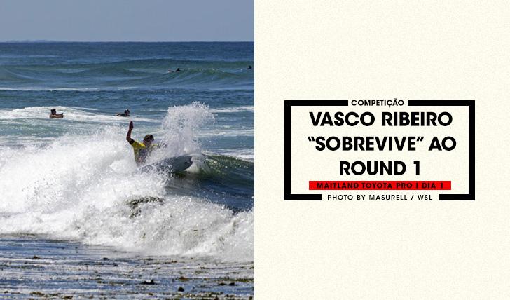 36091Vasco Ribeiro é o único resistente do round 1 no Maitland & Port Stephens Toyota Pro | Dia 1