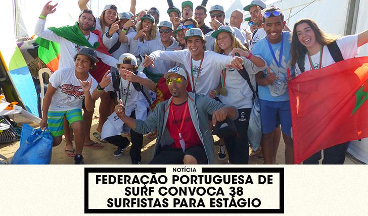 36831FPS convoca 38 surfistas para estágio