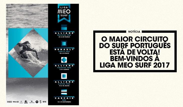 36493O maior circuito do Surf Português está de volta. Bem-vindos à Liga MEO Surf 2017!