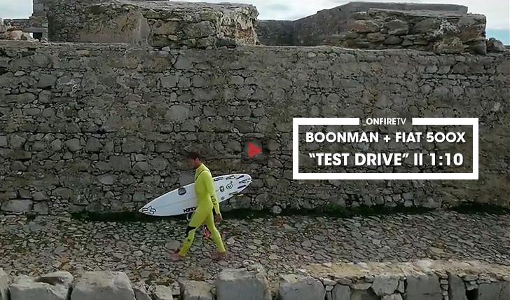 """37303Pedro Boonman + Fiat 500X   """"Test Drive""""    1:10"""