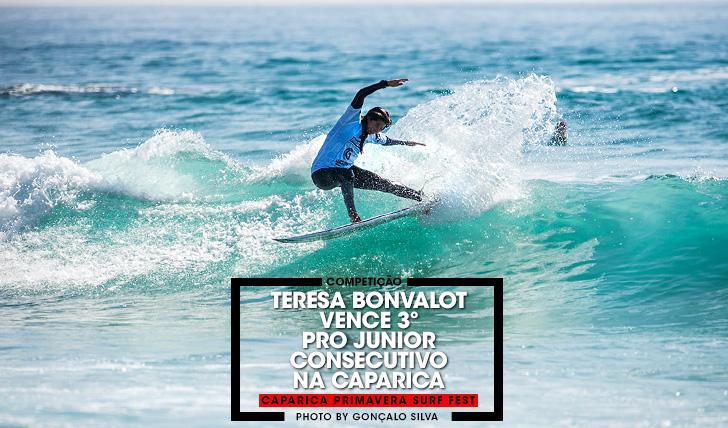 37169Teresa Bonvalot vence 3º Caparica Pro Junior consecutivo   Dia 3