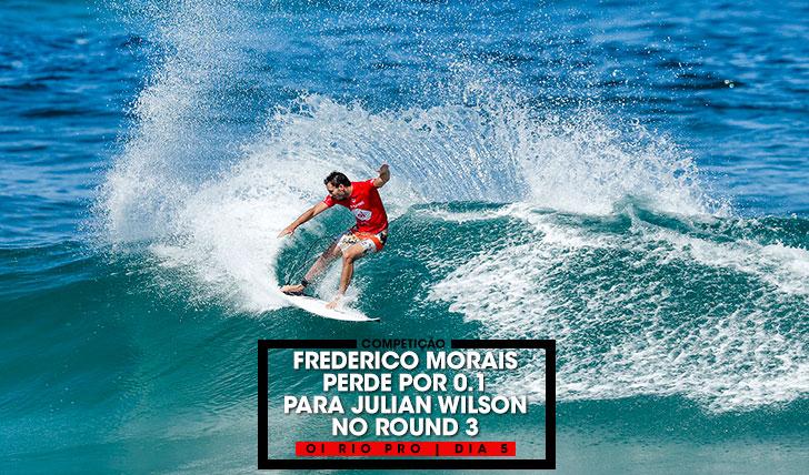 37708Frederico Morais perde por 0,1 para Julian Wilson no round 3 do Oi Rio Pro