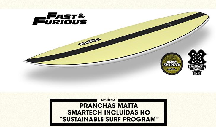 """37900Pranchas MATTA SMARTech incluídas no """"Sustainable Surf Program"""""""