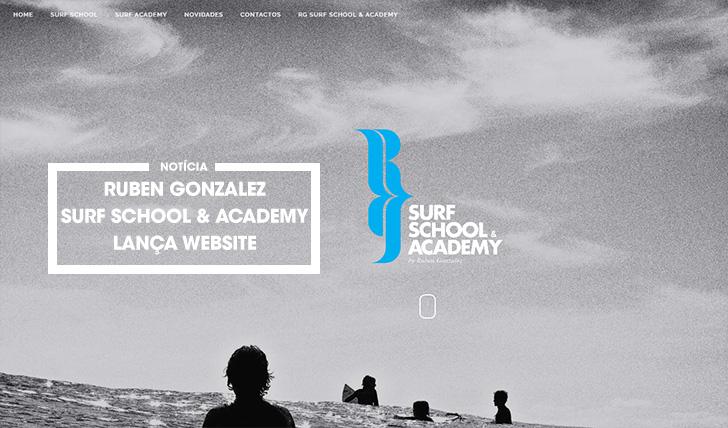 37864Ruben Gonzalez Surf School & Academy lança website
