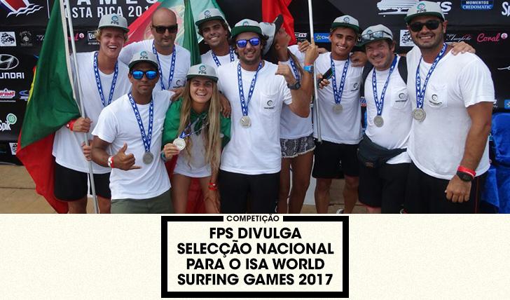37575FPS apresenta uma das selecções nacionais mais fortes de sempre para o ISA WSG 2017