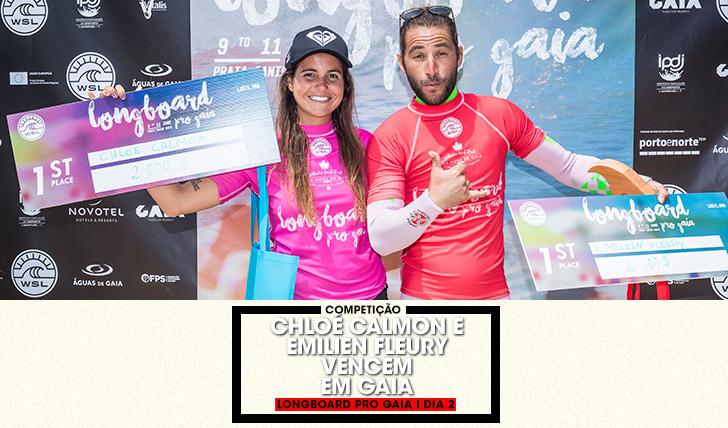 38277Chloé Calmon e Emilien Fleury vencem Longboard Pro Gaia