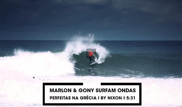 38223Marlon e Gony surfam ondas perfeitas na Grécia | By Nixon || 5:31