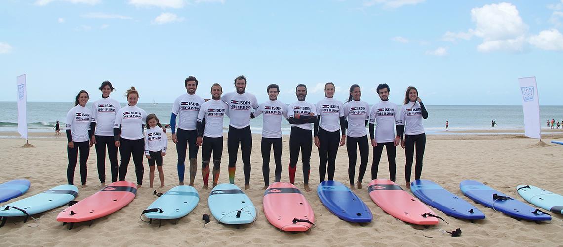 38617Frederico Morais e ISDIN promovem as boas práticas de proteção solar com aula de surf