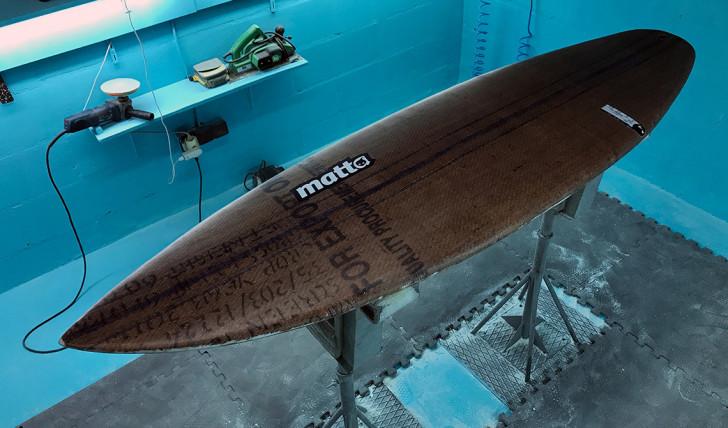 39957MATTA desenvolve prancha com materiais reciclados