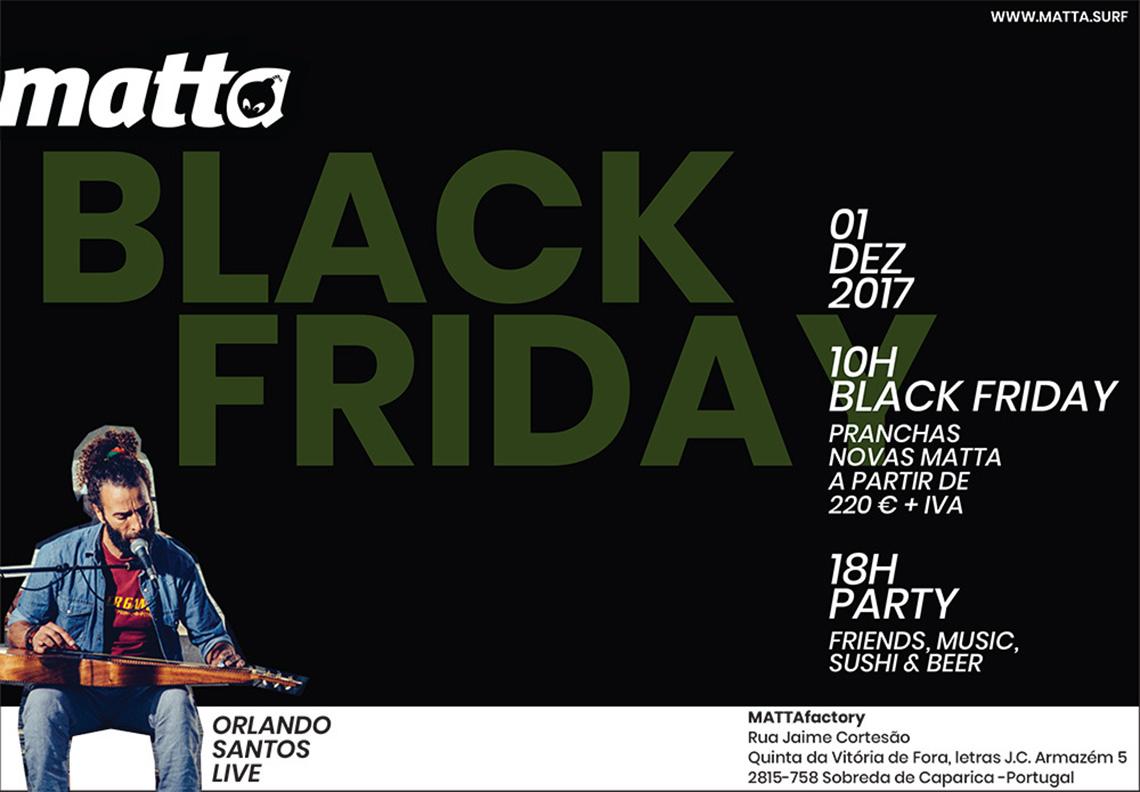 41657A Black Friday está a chegar à MATTAfactory…