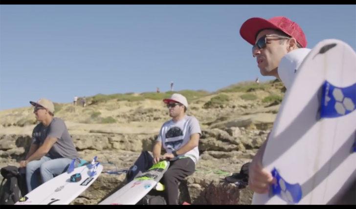 41334No contest | Saca & Vasco, Kanoa & Clarke-Jones em Portugal || 8:56