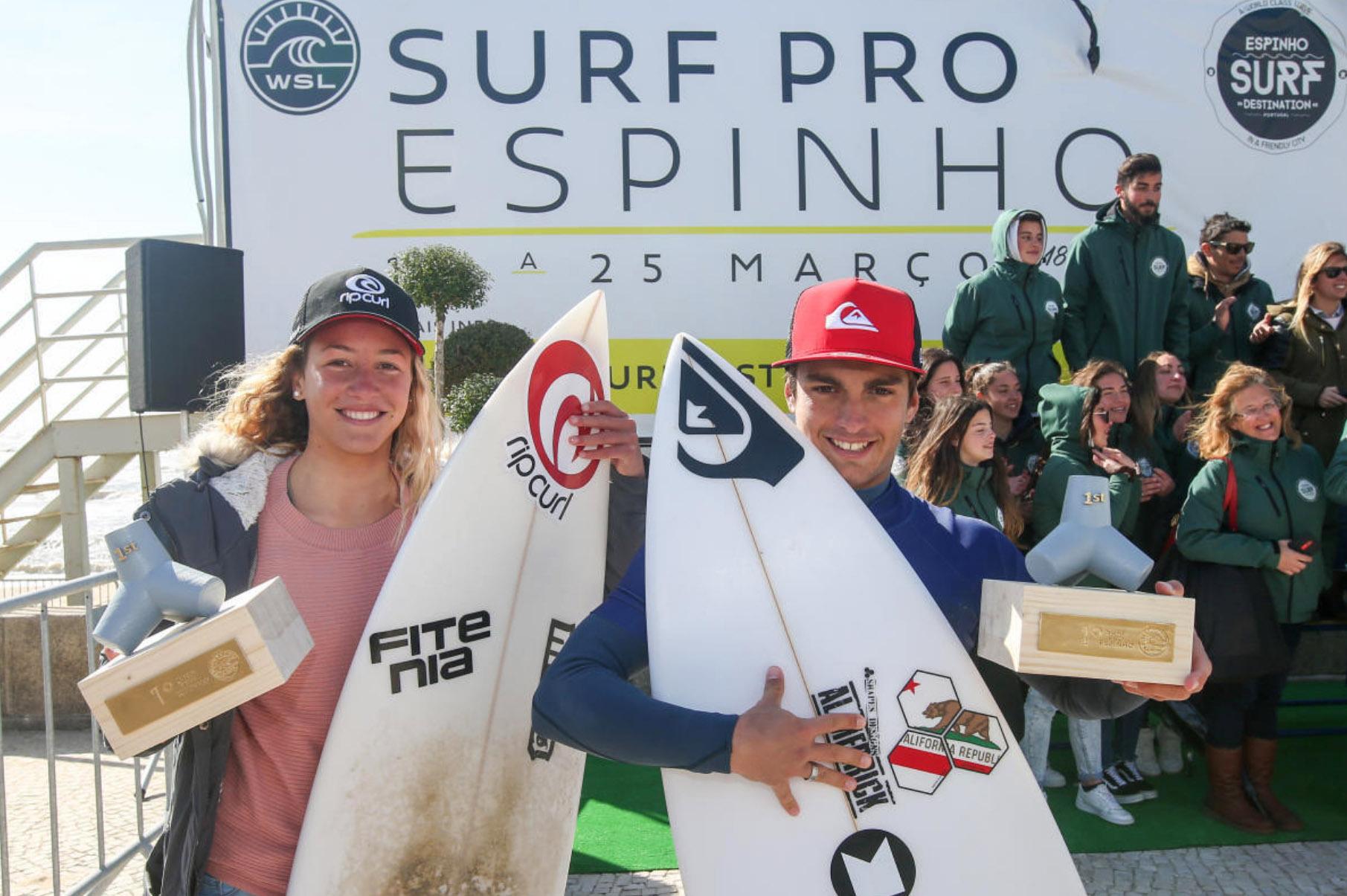 43428Mathis Crozon & Melania Suarez Diaz vencem Junior Pro Espinho