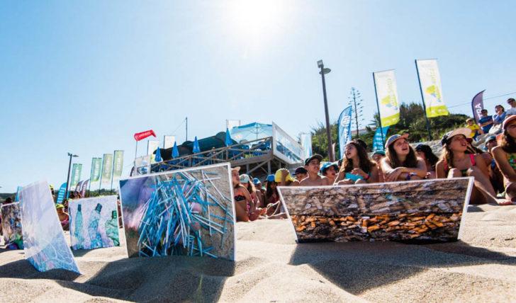 47448Acções de limpeza na Liga MEO Surf retiraram mais de 1 tonelada de plástico das praias