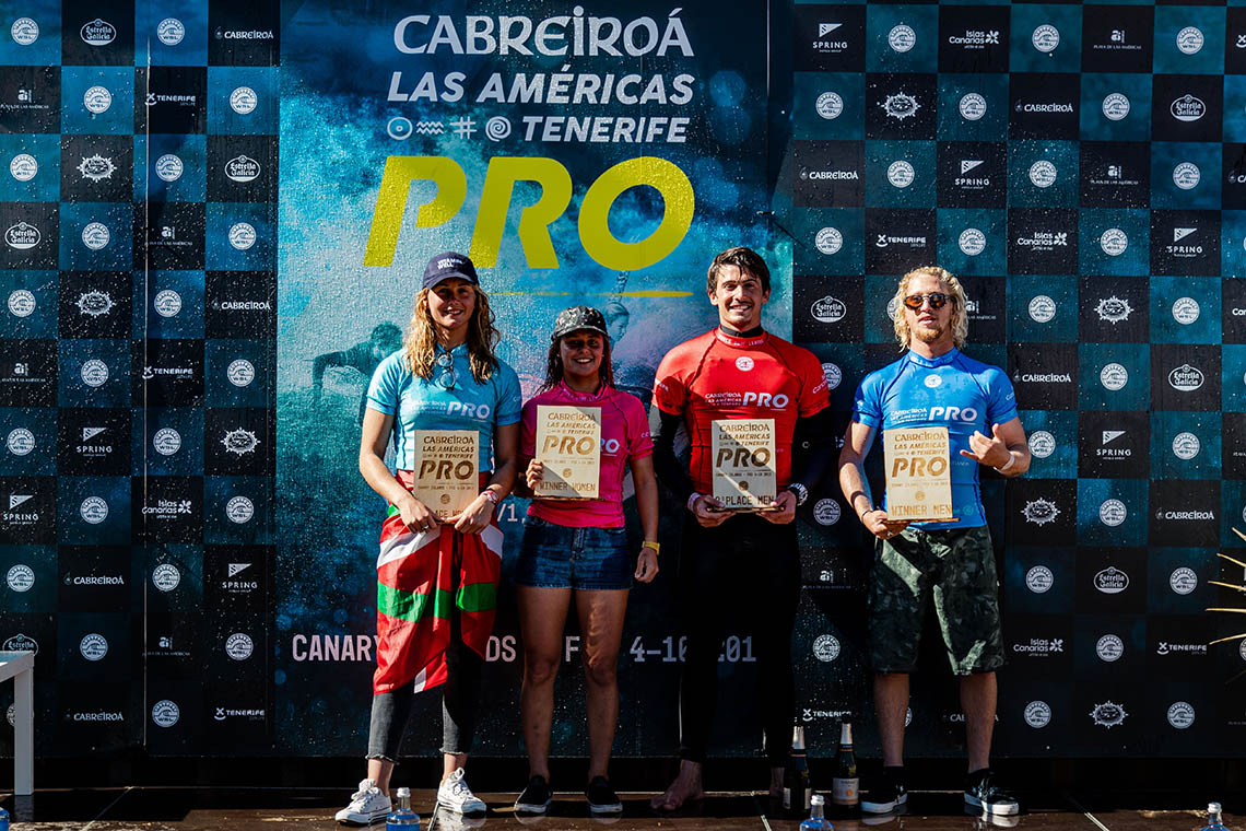 49180Carol Henrique termina em 3º lugar nas Canárias, Boldini & Bisso vencem
