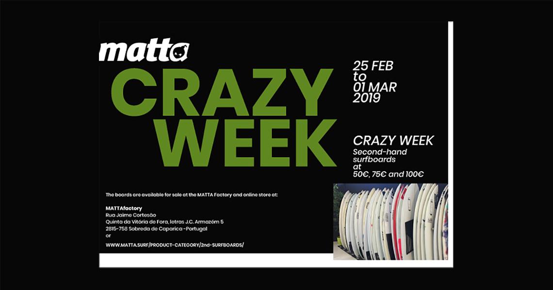 "49344Esta semana há ""CRAZY WEEK by MATTA"""