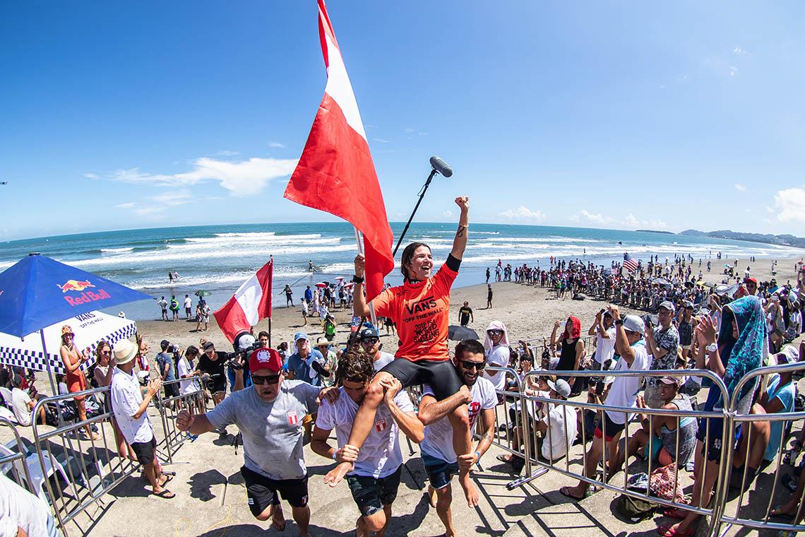 52170Vagas Olímpicas decididas no dia 4 do ISA World Surfing Games no Japão