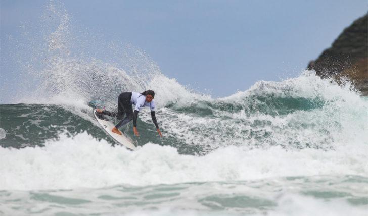 53292Os heats das surfistas portuguesas no Port Stephens Toyota Pro