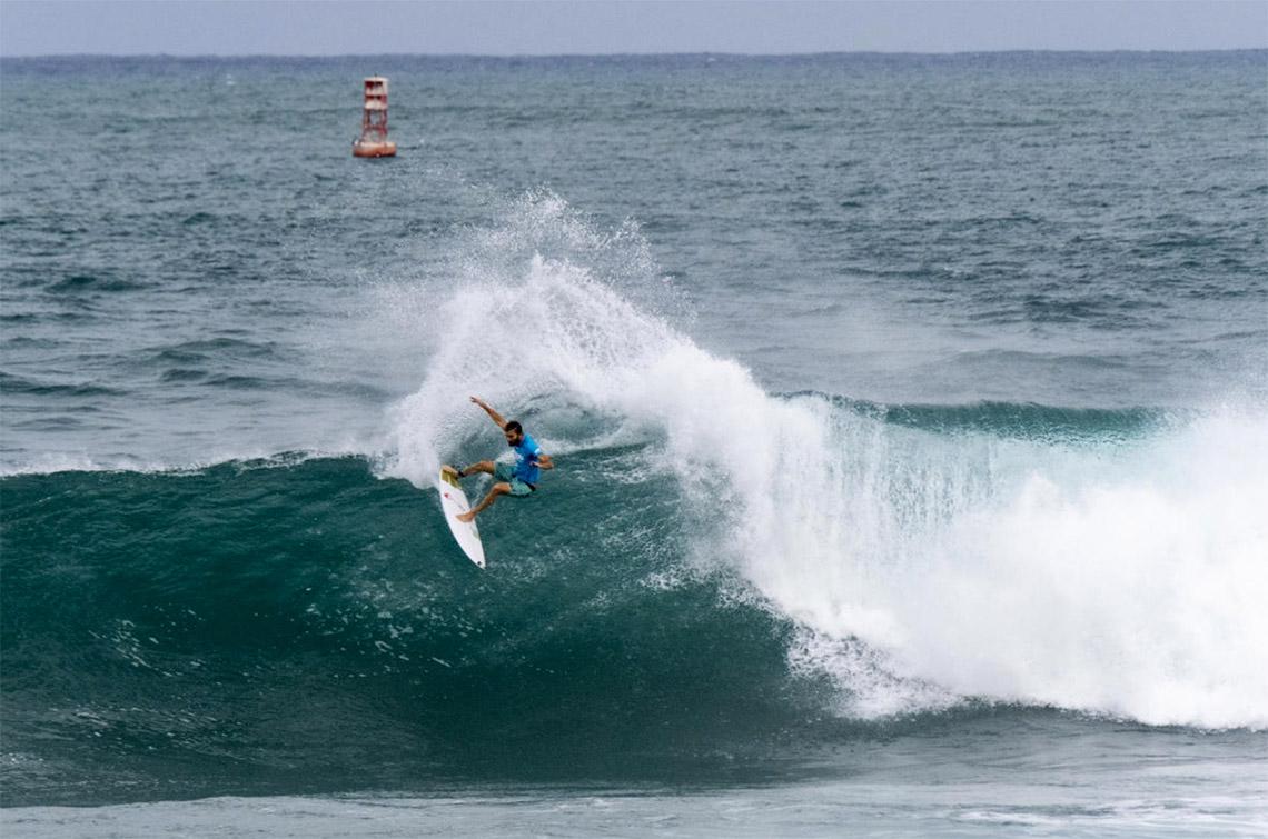 53478Frederico Morais avança para as meias finais do Hawaiian Pro