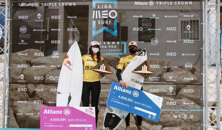 57233Afonso Antunes e Teresa Bonvalot foram os vencedores do Allianz Triple Crown