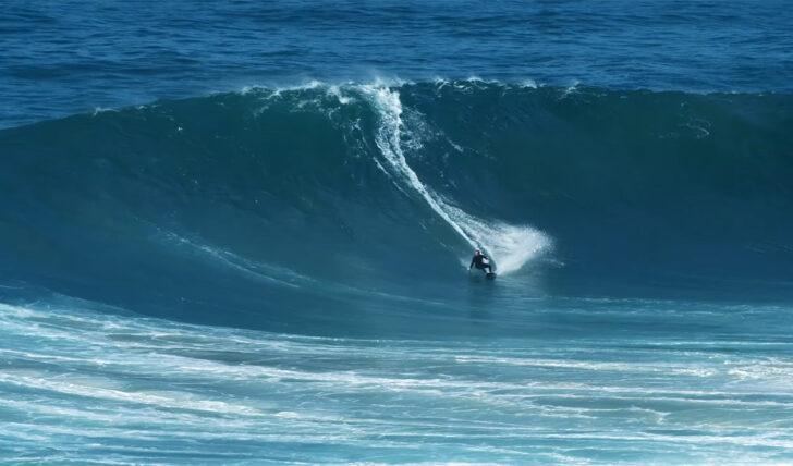 57217Um dia de ondas grandes em pleno Agosto na Nazaré || 4:57
