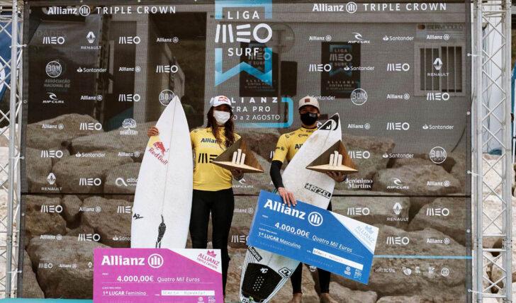 57846Liga MEO Surf – Prémio Allianz Triple Crown Champions em memória de Pedro Lima