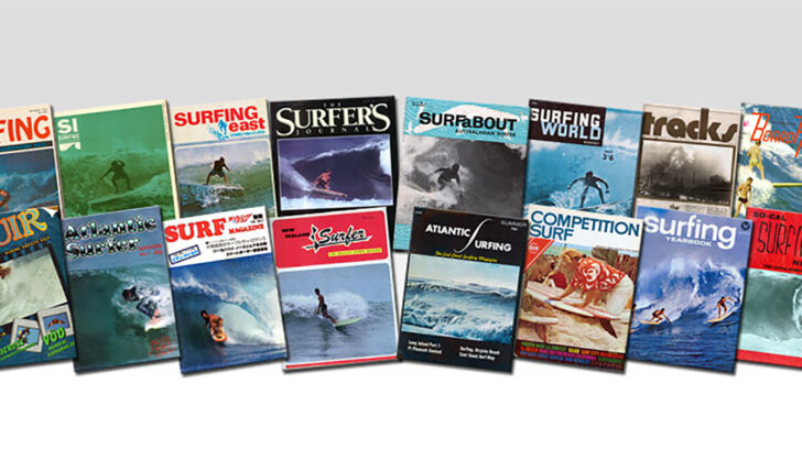 58389A maior coleção de revistas de surf do mundo está à venda